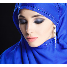 Hijab with trim
