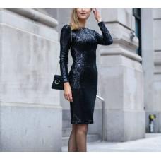 Dress with strass or trim