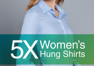 5 X Women's Hung Shirt